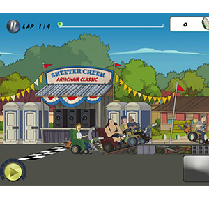 Skeeter Creek Armchair Racer | Mobile Game